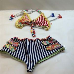 Mar acuna Jewel & Detail super cute fun swimsuit
